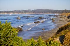Costa central 1 de Califórnia Fotografia de Stock Royalty Free