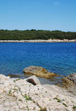 Costa cerca de Rt Vinjole Fotografía de archivo