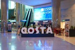Costa Coffee fotografia stock libera da diritti
