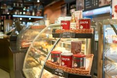 Costa Coffee fotografia stock