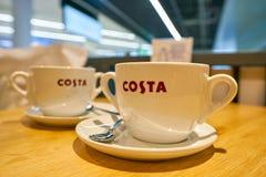 Costa Coffee imagenes de archivo