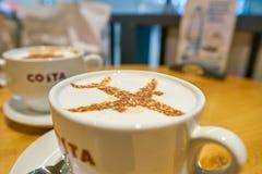 Costa Coffee foto de archivo libre de regalías