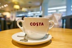 Costa Coffee fotografía de archivo libre de regalías