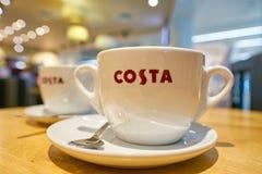 Costa Coffee fotos de archivo libres de regalías