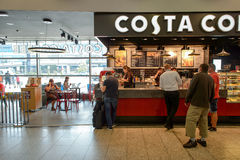 Costa Coffee cafe Royalty Free Stock Photo
