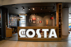 Costa Coffee cafe Royalty Free Stock Photography