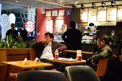 Costa Coffee cafe Stock Photo
