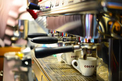 Costa Coffee cafe Royalty Free Stock Image