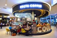 Costa Coffee interior Stock Photography