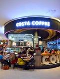 Costa Coffee interior Stock Photo