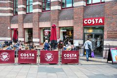 Costa Coffee Royalty Free Stock Photography