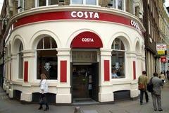 Costa Coffee Royalty Free Stock Image