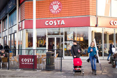 Costa coffee Stock Photography