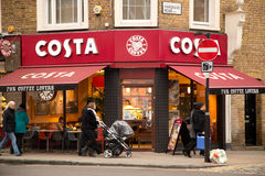 Costa coffee Royalty Free Stock Image