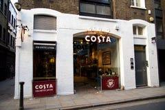 Costa coffee shop Stock Photos