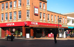 Costa coffee. Stock Image