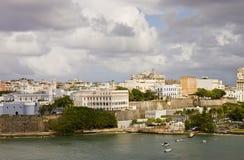 Costa colorida de Puerto Rico Imágenes de archivo libres de regalías