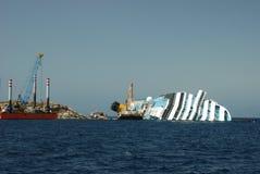 Costa Concordia Lizenzfreies Stockfoto