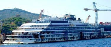 Costa Concordia Disaster Stock Images