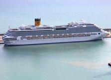 Costa Concordia Kreuzschiff stockfoto
