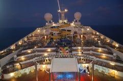 Costa Concordia skepp, medelhavs- kryssning royaltyfria foton