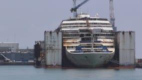 Costa Concordia wrak zdjęcie wideo