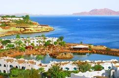 Costa coral do louro de Egipto Foto de Stock Royalty Free