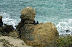 Costa costa 2 de California Foto de archivo