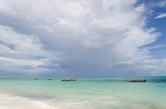 Costa costa arenosa hermosa Fotos de archivo