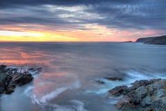 Costa costa atlántica Foto de archivo