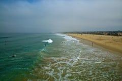Costa costa California meridional fotografía de archivo libre de regalías