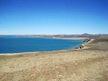 Costa costa cerca de Puerto Madryn Imagen de archivo libre de regalías