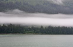 Costa costa de Alaska Imagen de archivo