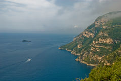 Costa costa de Amalfi Fotografía de archivo