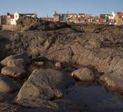 Costa costa de Anstruther Imagen de archivo libre de regalías