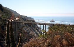 Costa costa de Big Sur Imágenes de archivo libres de regalías