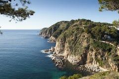 Costa costa de Brava de la costa Imágenes de archivo libres de regalías