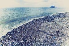 Costa costa de Brighton imagen de archivo libre de regalías