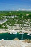 Costa costa de Córcega Imagenes de archivo