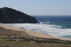 Costa costa de California Fotos de archivo libres de regalías