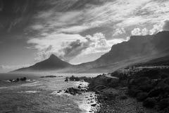 Costa costa de Cape Town Imagen de archivo libre de regalías