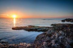 Costa costa de Chipre Fotografía de archivo
