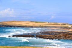 Costa costa de Cornualles Imagen de archivo