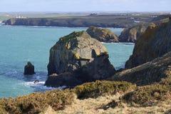 Costa costa de Cornualles Imagen de archivo libre de regalías