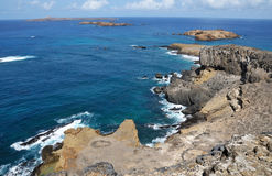 Costa costa de Djeu Foto de archivo