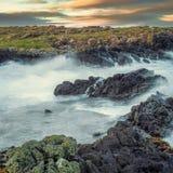 Costa costa de Dunseverick Imagen de archivo libre de regalías
