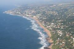 Costa costa de Durban Fotos de archivo libres de regalías
