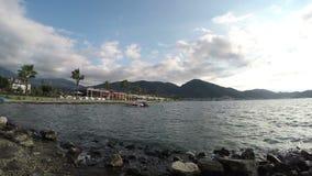 Costa costa de Fethiye almacen de video