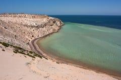 Costa costa de la bahía del tiburón Foto de archivo libre de regalías