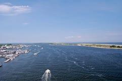 Costa costa de la orilla del jersey Fotos de archivo
